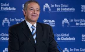 General (r) Óscar Naranjo, exdirector de la Policía Nacional y próximo vicepresidente de la República, en reemplazo de Germán Vargas Lleras.