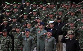 Miembros de Fuerza Pública en Colombia. Foto: Colprensa