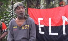Pantallazo del video subido a YouTube, donde el político Odín Sánchez aparece hablando sobre el proceso de paz con el ELN.