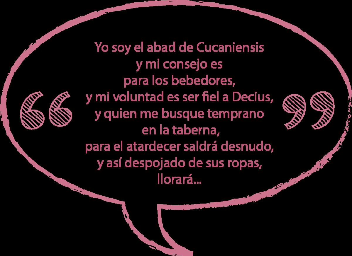 Fragmento en español de Yo soy el abad de Cucaniensis - Camina Burana Carl Orff