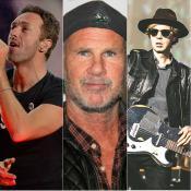 La boyband de Chad Smith, Beck y Chris Martin