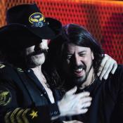Dave Grohl y su amigo Lemmy Kilmister Q.E.P.D.