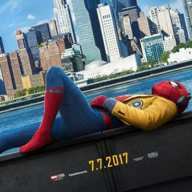 Iron Man y Spiderman en 'Homecoming'