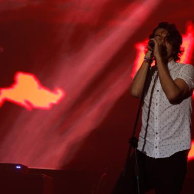 Árbol de Ojos presentando su disco 'Regular' en el Festival Estéreo Picnic 2017