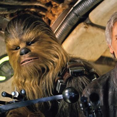 Aparece escena eliminada de Chewbacca en Star Wars VII
