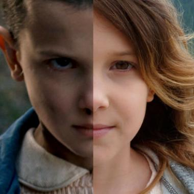 Así se rapó Millie Brown para Stranger Things