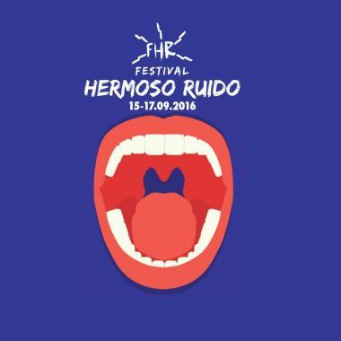 Este es el cartel del Festival Hermoso Ruido 2016