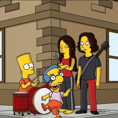 Matt Groening solo tardó 15 minutos en dibujar a los 5 integrantes de la familia Simpson.