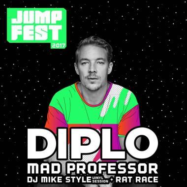 Diplo y Mad Professor en el Jump Fest 2017