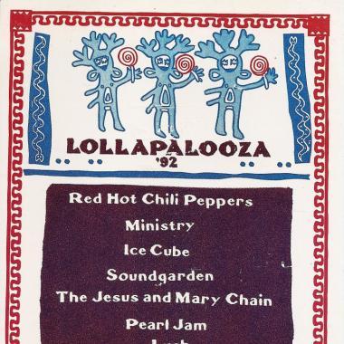 11 carteles soñados de Lollapalooza Chicago