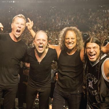 Metallica y su minidocumental en Spotify