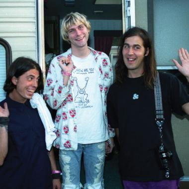 Nirvana fueron Dave Grohl, Kurt Cobain y Krist Novoselic. Foto tomada de http://conversationsabouther.net