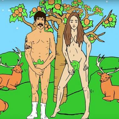 Red Hot Chili Peppers ilustrado en su nuevo video