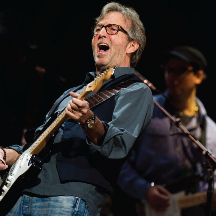 Eric Patrick Clapton de 71 años.