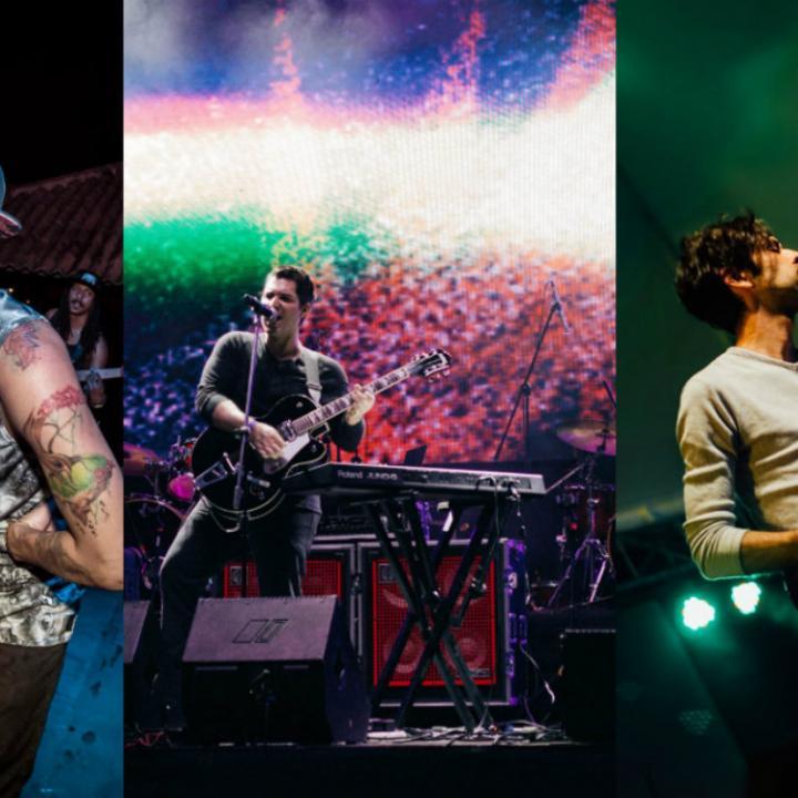 Imágenes extraídas del Facebook de cada una de las bandas