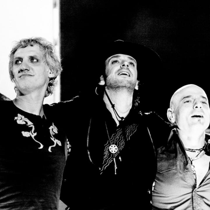 Soda Stereo en la gira Me Veras Volver Foto: Página oficial de la banda
