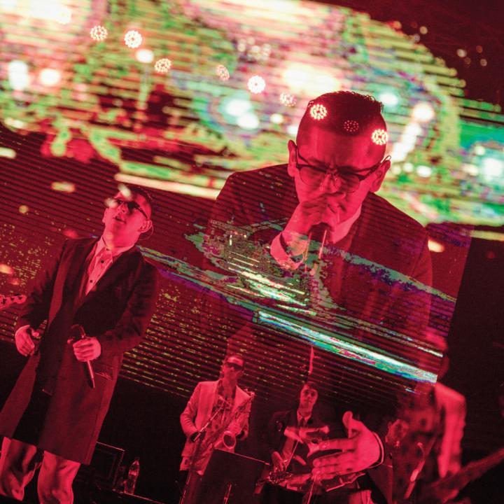 LosPetitFellas en el Concierto Radiónica 10 años. Foto: Lina Botero.