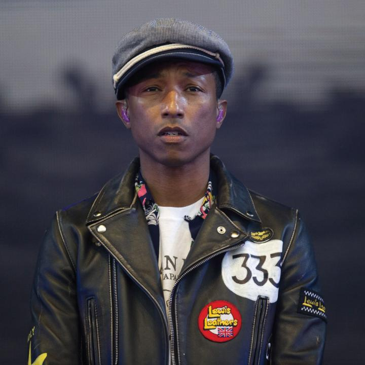 Pharrell Lanscilo Williams ya tiene 43 años. Foto de Getty Images.