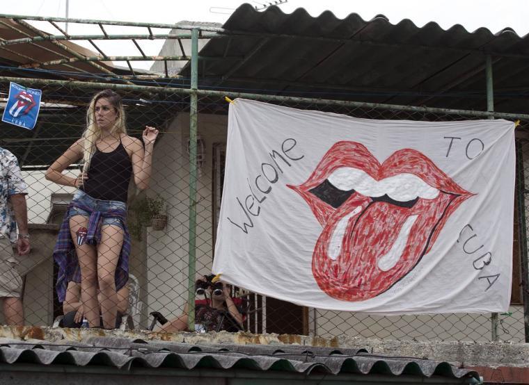 Imagen tomada de Facebook: The Rolling Stones