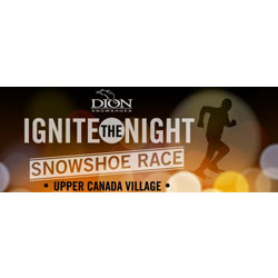 Dion Ignite the Night Snowshoe Race