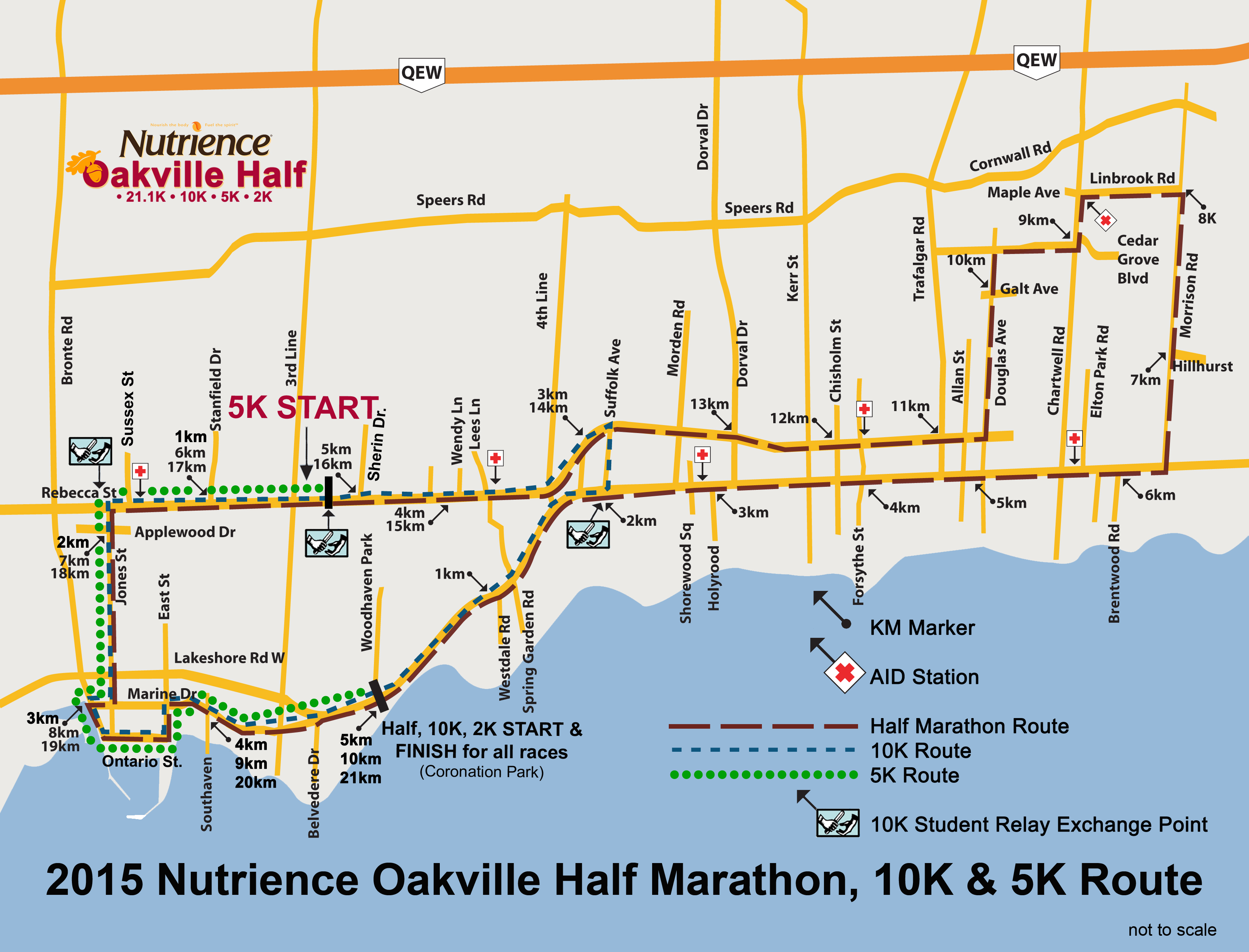 2015 noh 10k 5k route map