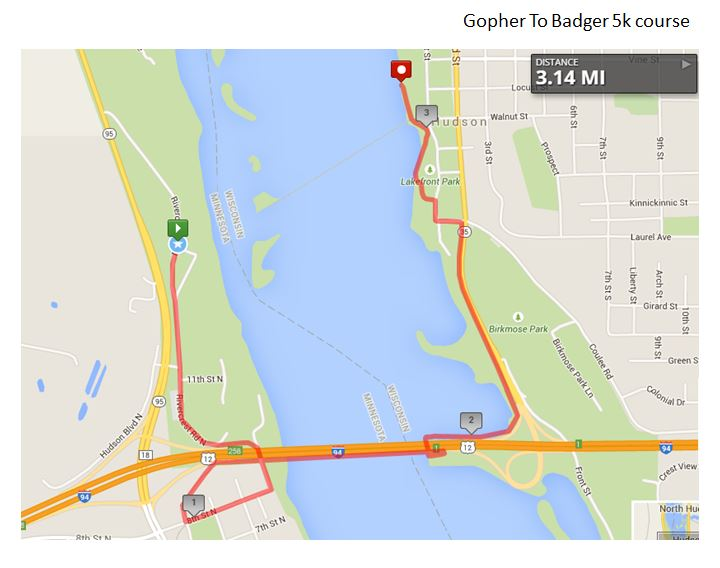 Gophertobadger5kcourse