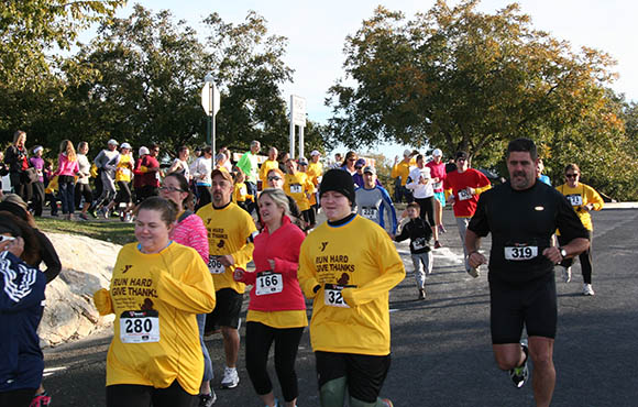 Boerne Family YMCA Turkey Trot
