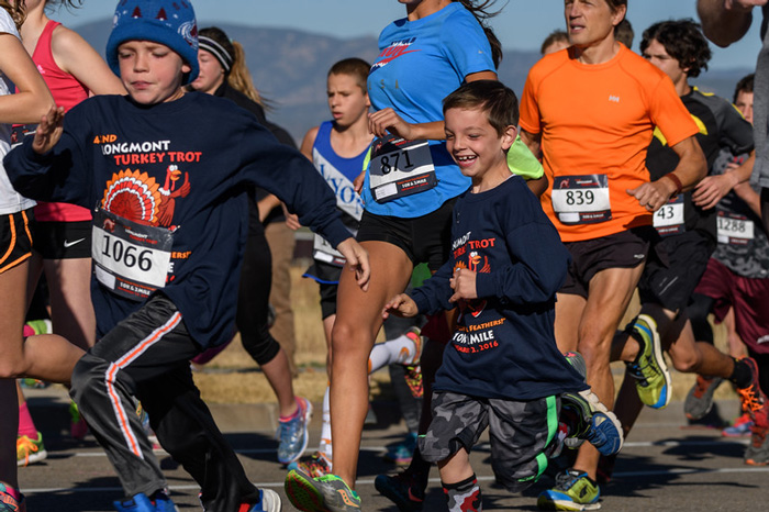 Longmont Turkey trot