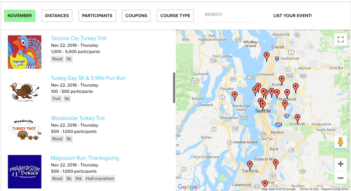 seattle turkey trot guide