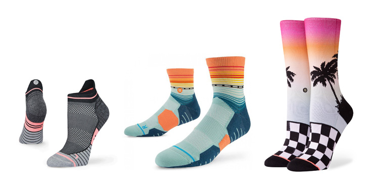 socks to give to runners as a gift