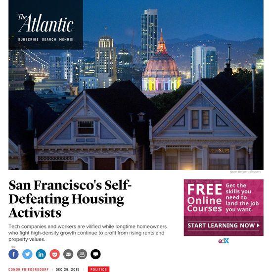 San Francisco 39 S Self Defeating Housing Activists