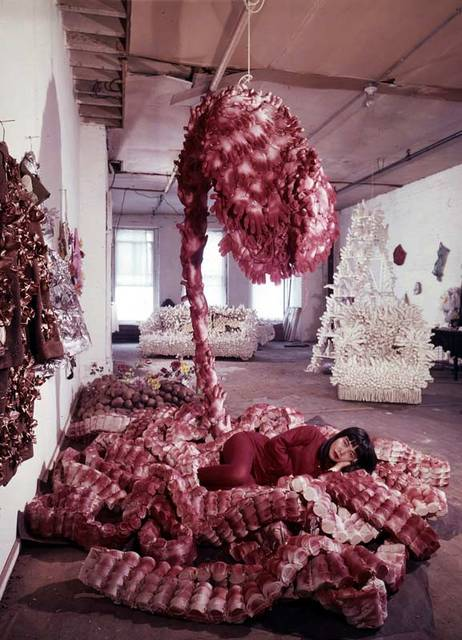 Traveling Life, 1964, courtesy of Yayoi Kusama Studio Inc.