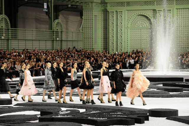 Carmen leads the pack at Chanel SS 11.