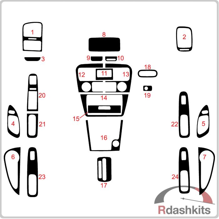Dash Kits Diagrams Honda Accord 1998 on Honda Accord Radio Clock