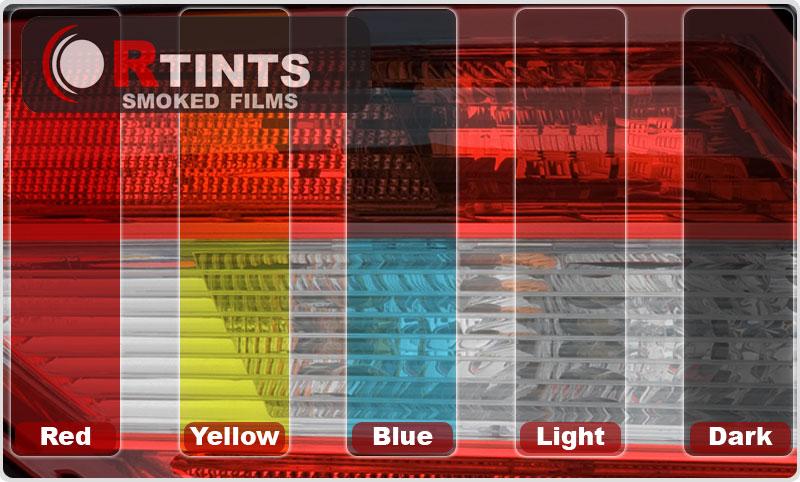 Window Tint Colors Shades