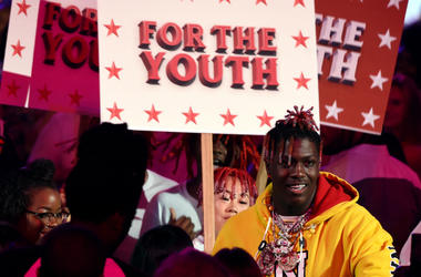Lil Yachty performs onstage at FOX's 'Teen Choice 2017' at the Galen Center on August 13, 2017 in Los Angeles, California.