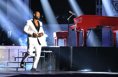 Tank performs onstage at the 2017 Soul Train Awards, presented by BET, at the Orleans Arena on November 5, 2017 in Las Vegas, Nevada.