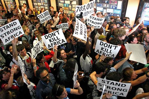 Protest in Durban