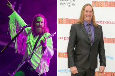 """Brent Hinds of Mastodon performing live on stage at Bloodstock festival on August 13 2016 at Catton Hall, United Kingdom Danny Carey. """"Free Birds"""" Los Angeles Premiere held at the Westwood Village Theatre"""