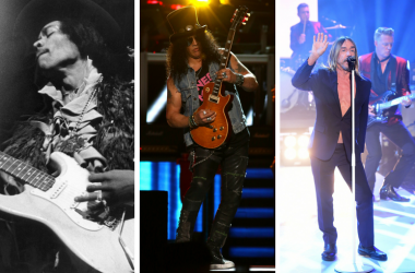 Jimi Hendrix, Slash, Iggy Pop