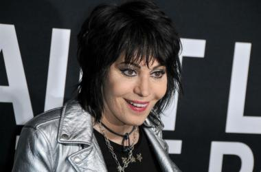 Joan Jett arrives at the SAINT LAURENT At The Palladium held at the Hollywood Palladium in Los Angeles, CA