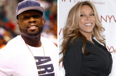 50 Cent attends the Big 3 championship game between 3 Headed Monsters and Trilogy at MGM Grand Garden Arena / Wendy Williams attends the NYWIFT's 33rd Annual Muse Awards at the Hilton Hotel in New York, NY, on December 12, 2013.