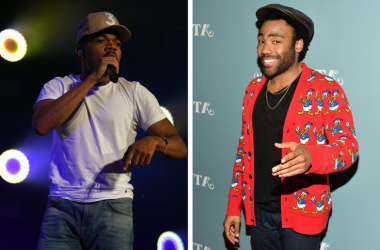 Chance The Rapper performs at American Airlines Arena. / Donald Glover (Childish Gambino) attends FX's 'Atlanta' For Your Consideration red carpet event at the Zankel Hall in Carnegie Hall on June 5, 2017 in New York City.