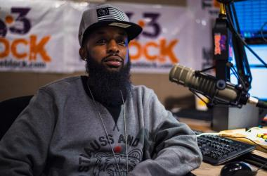 Que Sparks host the Weekend Takeover on the Block