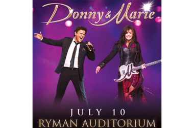 Donny & Marie register to win contest