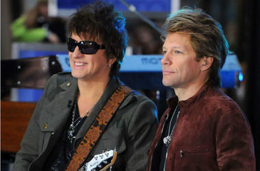 Richie Sambora and Jon Bon Jovi