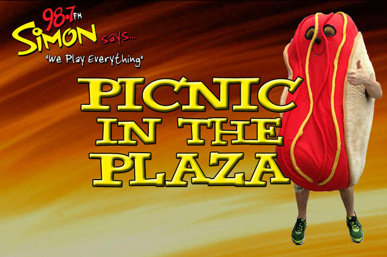 Simon says Picnic in the Plaza