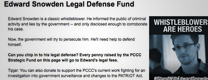 ABC NEWS: Progressives Raise Money for NSA Leaker Snowden's Legal Defense