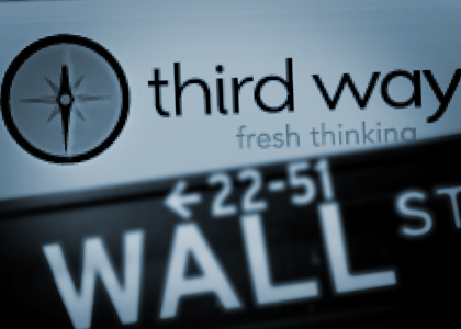 Tell Third Way: Reveal your corporate funders