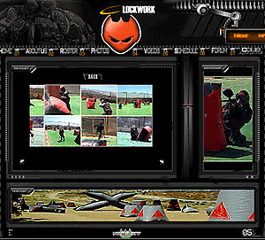 Detail Image of Portfolio item Clockwork Paintball - image 1